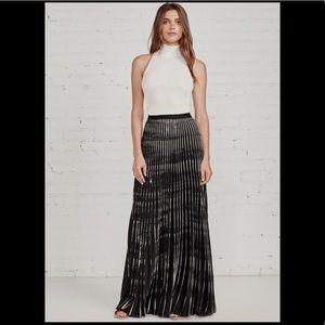 Bailey44 Maxi Pleated Skirt